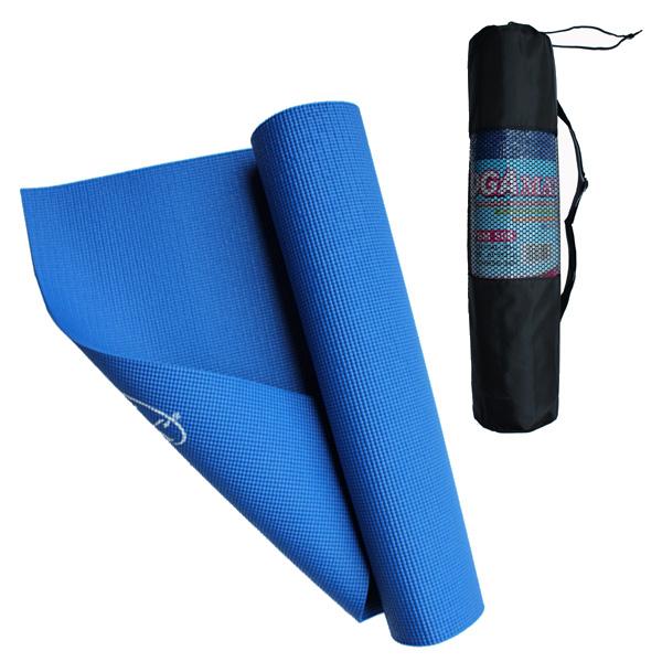 YGM506 Yoga Mat (6mm) With Bag (Pink/Tiffany Blue/Purple